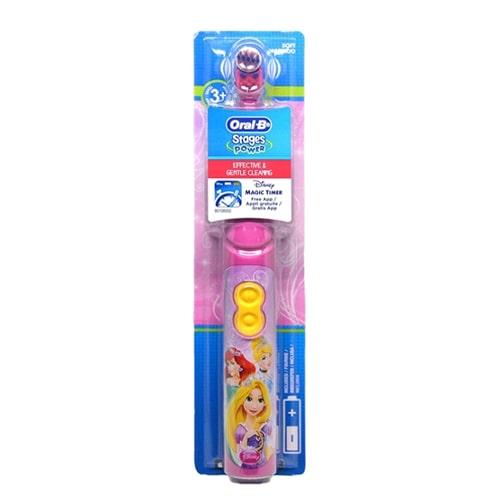 Oral-B Çocuklar İçin Pilli Diş Fırçası Stages Power Prenses