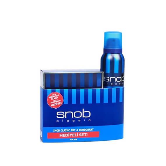 Snob Classic Kofre - Parfüm 100 ml + Deodorant 150 ml