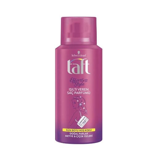 Taft Effortless Style Işıltı Veren Saç Parfümü 100 ml
